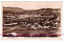 ALBURY NSW  Panorama looking West Clock Tower  Regent c.1920 RPPC Rose AUSTRALIA