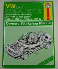 Reparaturanleitung Golf 2 II + Jetta Benziner mit GTI / 16 V, Baujahr: 1984-1988