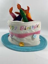 Little Day Dreamers by Elope Happy Birthday Cake Hat w/ Size Adjuster
