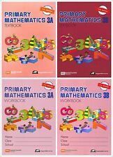 Singapore Primary Math Grade 3 Kit (US ED)-Workbook/Textbook 3A+3B-FREE SHIPPING