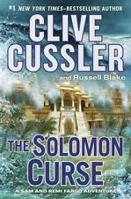 The Solomon Curse  (ExLib) by Clive Cussler; Russell Blake