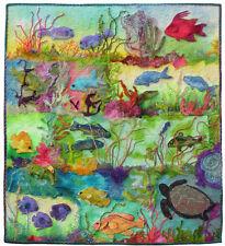 Woolly Fish, a Felted  Applique Pattern by Debora Konchinsky,Critter Pattern Wks