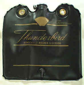 1966 1967 Ford Thunderbird 3 piece Kit  Washer Fluid Reservoir Bag , Pump, Kit