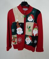 Women's Holiday Heirloom Collectables Christmas Collection Sweater Size Medium