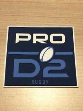 Exclu Nouveau Patch Badge officiel PRO D2 maillot Rugby saison 20/22 vendeur pro