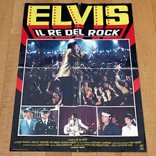 ELVIS IL RE DEL ROCK manifesto poster Shelley Winters Kurt Russell Carpenter
