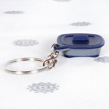 NEW Tupperware Micropro Grill Keyring Keychain Black and Grey