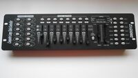 192CH DJ Lighting DMX 512 Controller,240 Scene DMX Controller Board Pro Lighting