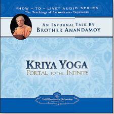 PARAMAHANSA YOGANANDA: KRIYA YOGA PORTAL TO THE INFINITE BY BROTHER ANANDAMOY CD