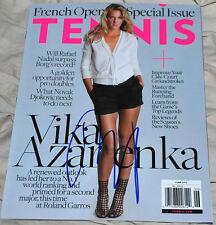 VICTORIA AZARENKA Signed TENNIS Magazine 6/12 - NML