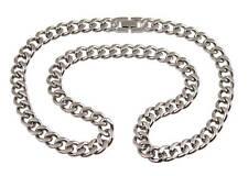 Titanium Heren Ketting 55cm halsketting schakel link chain