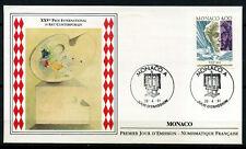 MONACO FDC 1° jour, timbre 1776,  ART Contemporain