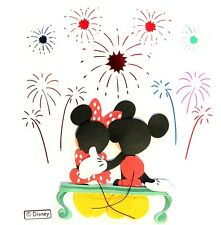 Disney Fireworks Mickey Mouse Minnie Disneyworld Disneyworld 3D Stickers