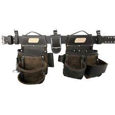 Leather Tool Belt Pouch Electrician Bag Pocket S Framer Carpenter