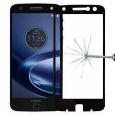 For Motorola Moto Z Force 3D Premium 0,3 Mm H9 Safety Glass Black