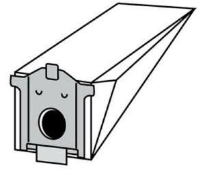 M18 10 sacchi filtro per aspiratore Siemens: Converto A B C  Bosch Flexa sacco