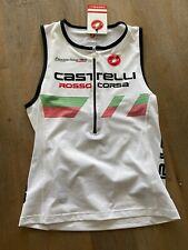 Men's Castelli Triathlon Core Tri Top BRAND NEW White Size Large