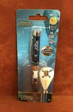 INK WORKS ~ PIRATES OF THE CARIBBEAN ~ Light Projector Black Ballpoint Pen ~ NIP