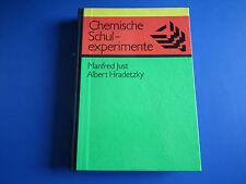 DDR Fachbuch Lehrbuch-Chemische Schulexperimente Band 4-Organische Chemie top Zu