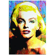 Pop Art 'Marilyn Monroe' - Pop Culture Icon Painting - Celebrity Art, Abstract