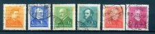 Hungary 1932  Famous Hungarians - six used