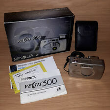 Minolta Vectis 300 35mm Compact APS Camera with Flash and Zoom Complete RRP £169