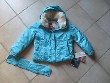 Veste blouson  ski poivre blanc taille 5 ans couleur bleu