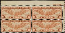 #C19 UPPER RIGHT PB#21236 1934 6c WINGED GLOBE AIMAILR POST ISSUE MINT-OG/NH-VF+