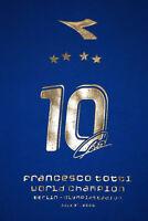 maglia totti limited edition Italia 2006 World Champion New S vintage World Cup