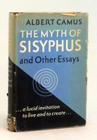 Albert Camus First Edition 1955 The Myth of Sisyphus & Other Essays HC w/DJ