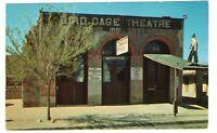 Undated Unused Postcard Famous Bird Cage Theatre Tombstone Arizona AZ