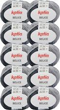 500g Wollpaket Sonderposten Katia Belice F303, bunte Wolle, Baumwollmischgarn