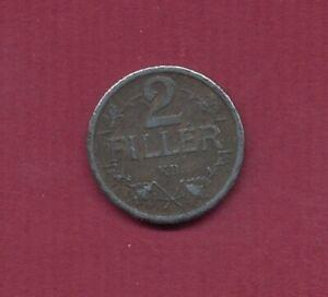 1917 ;Ungarn K.u.K.   2 Heller (Eisen) , B.14. ,  Erh.: vz