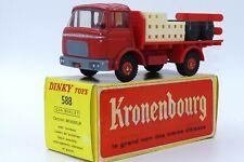 """Dinky Toys 588 Berliet GAK Camion Brasseur """"Kronenbourg"""" 1/43 Atlas Neuf Boite"""