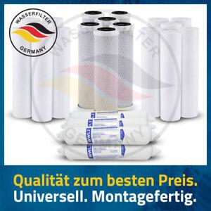 Ersatzfilter 5 Stufen 3 Jahre 24 Stück Umkehrosmoseanlage Wasserfilter Kartusche