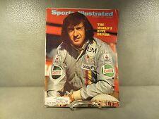 Vintage Sports Illustrated September 6,1971 Race Car Driver Jackie Stewart Cover