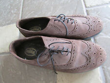 DEXTER WATERPROOF OXFORD SHOES MENS 10W BROWN LEATHER  LACE UPS MADE IN USA