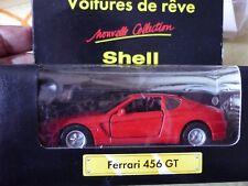 MAISTO SHELL -  FERRARI 456 GT 1/36 - NEUF DANS BOITE ORIGINE