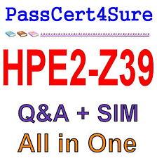HP Applying Aruba Switching Fundamentals for Mobility HPE2-Z39 Exam Q&A PDF+SIM