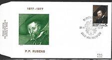 BELGIUM 1977 FIRST DAY COVER, RUBENS SELF PORTRAIT
