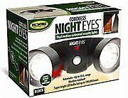 Jobar Cordless Night Eyes- Security Lights- Black