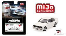 MINI GT 1/64 BMW M3 (E30) (White) (LHD) Limited Edition Diecast Car MGT00041