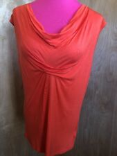 michael kors Orange Blouse Size Large Az-892