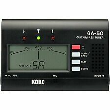 Korg GA50 Compact Guitar and Bass Tuner Black