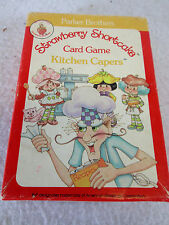 Vintage 1983 Parker Brothers Strawberry Shortcake Kitchen Capers card game 0943