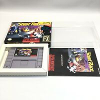 Stunt Race (Super Nintendo SNES, 1994) Complete CIB NEAR MINT