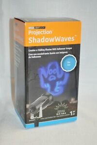 Halloween IMAGES LED Light Show PROJECTION Shadow WAVES GEMMY INDOOR Outdoor New