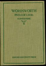WORDSWORTH William, The prelude. Books I, II and parts of V and XII