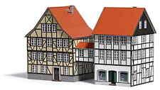 Busch 1538 Buschheide Altstadthäuser mit Übergang Echt Holz NEU/OVP