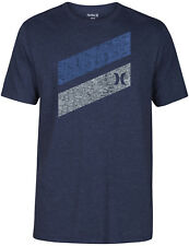 Hurley Icon Slash Push Through Short Sleeve T-Shirt in Obsidian Heather